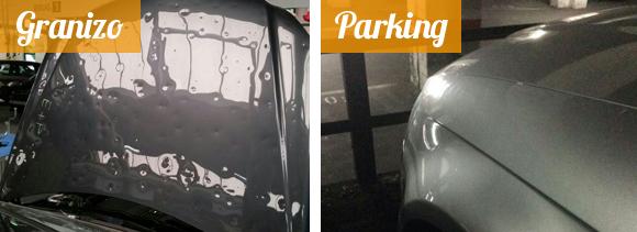 Granizo-parking